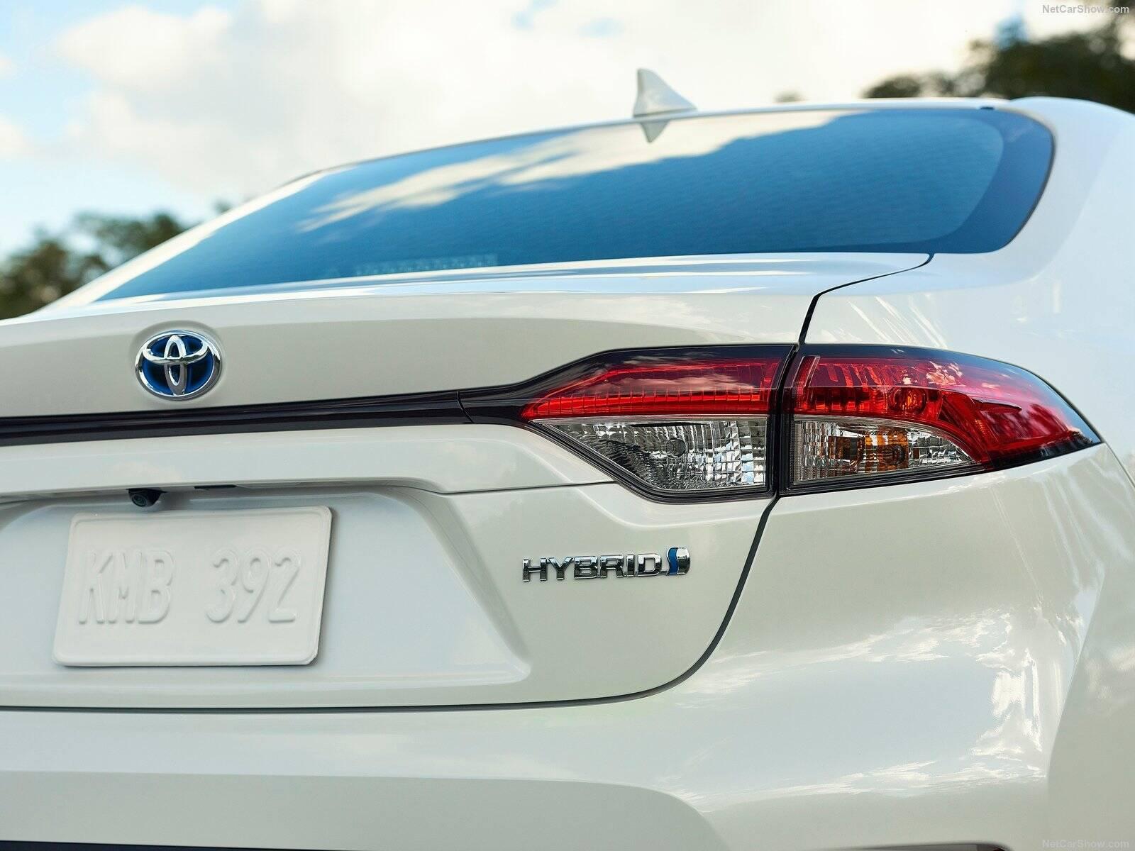 Toyota Corolla híbrido. Foto: Divulgação