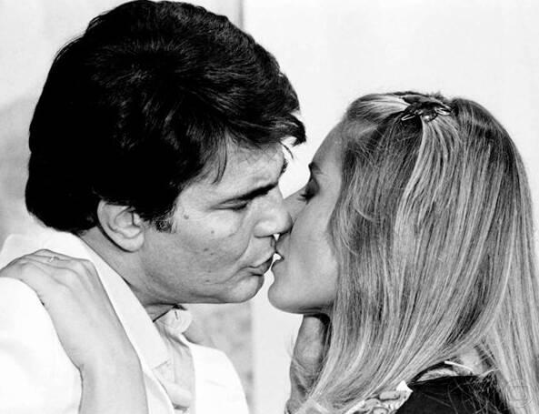 """Tarcísio Meira e Vera Fischer em """"Coração Alado"""", de. Foto: Reprodução/Twitter"""