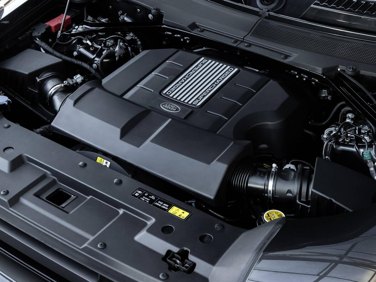 Land Rover Defender V8. Foto: Divulgação