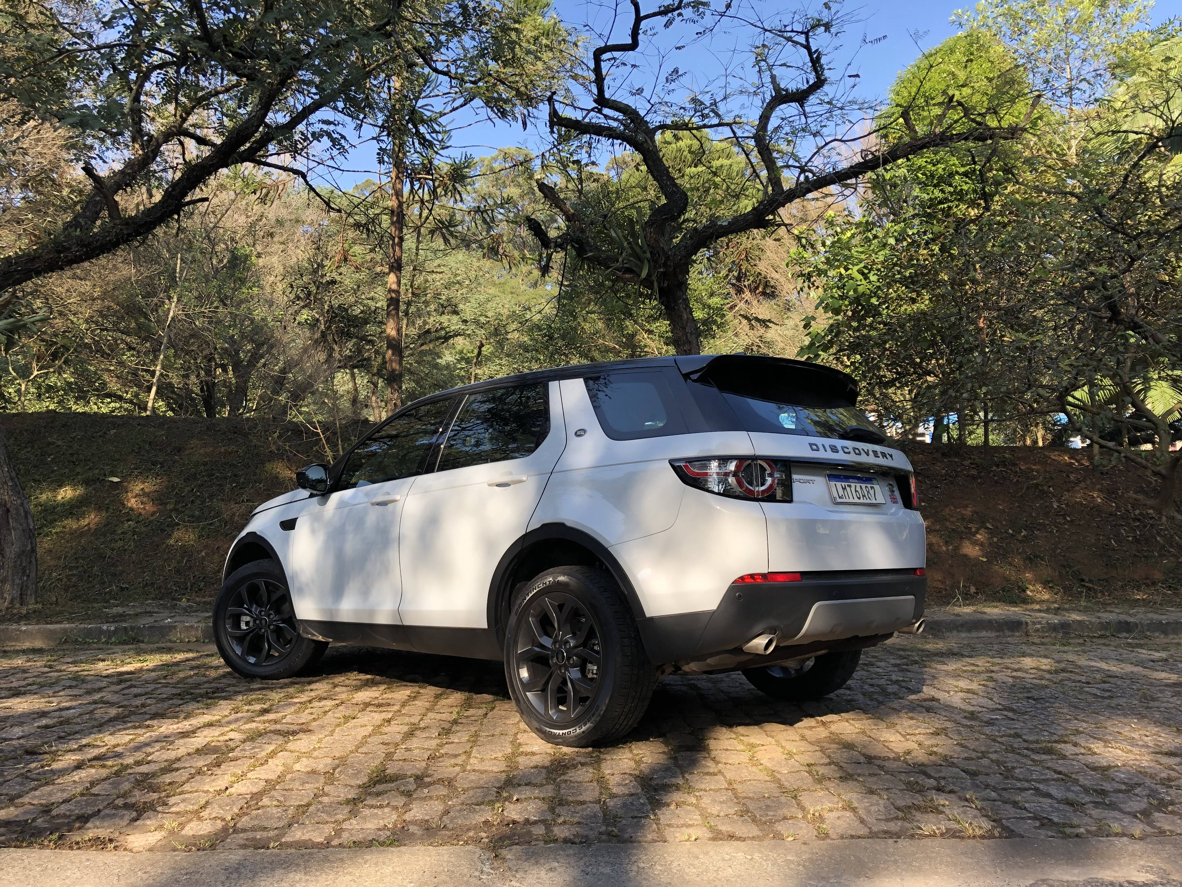 Land Rover Discovery Sport. Foto: Cauê Lira/iG Carros