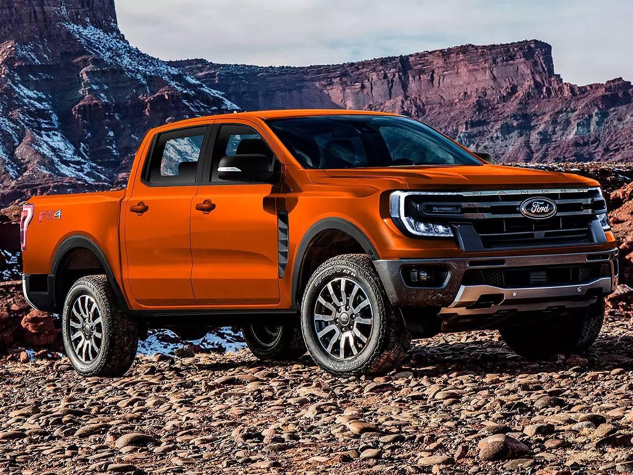 Ford Ranger. Foto: Kleber Silva/K Design
