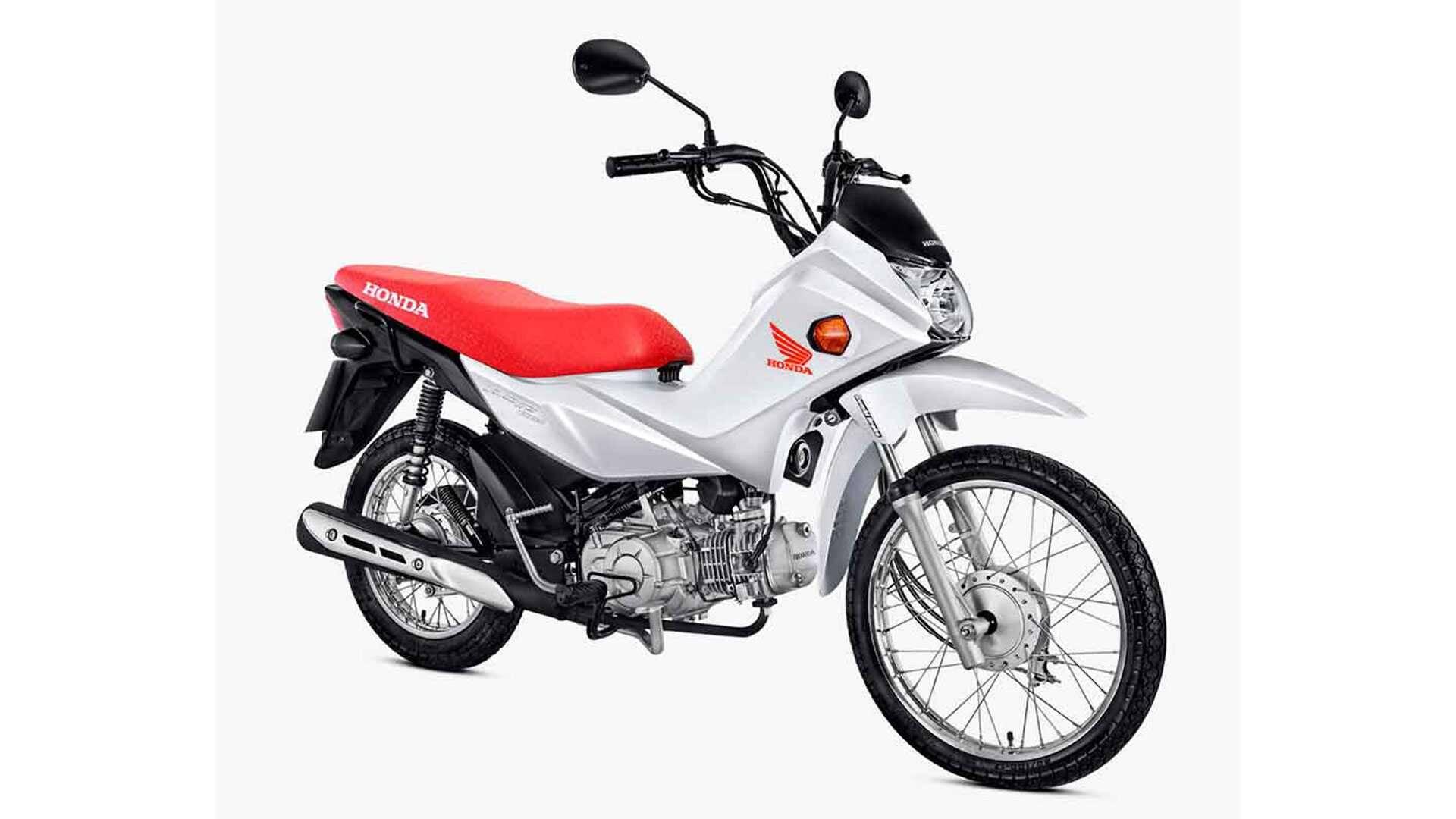 Honda Pop 110i. Foto: Divulgação