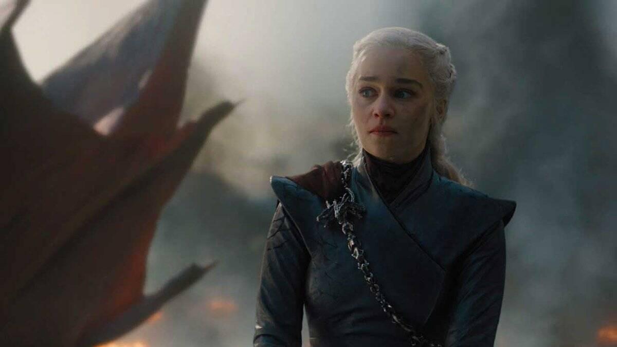 """No domingo (12), mais uma cena de """"GoT"""" entrou para a lista de melhores imagens da semana, quandoDaenerys queimou Westeros, matando vários inocentes. Foto: Divulgação"""