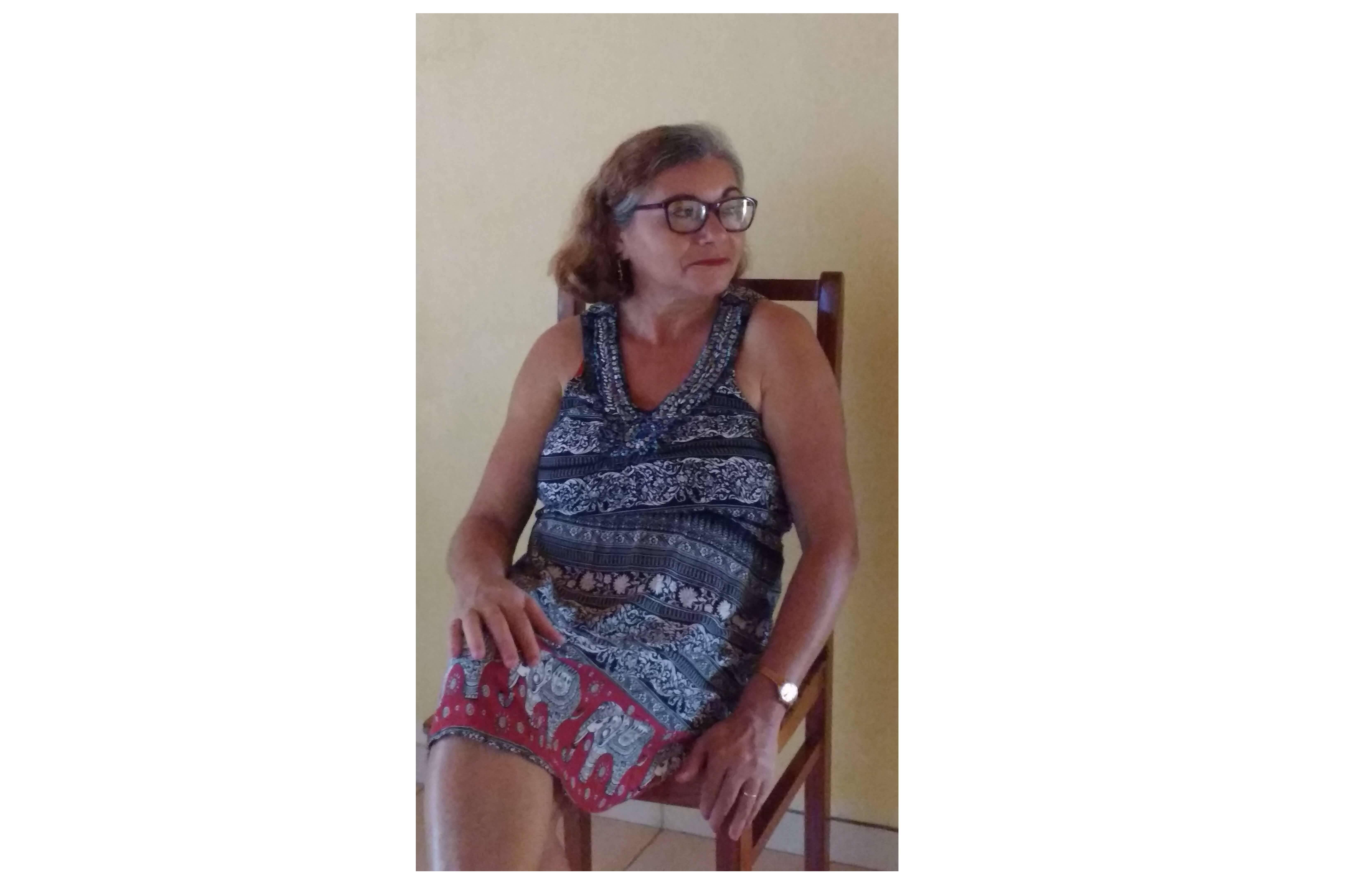 Uma pessoa preciosa minha mãe, por Maria Cinara de Sousa Magalhães. Foto: Maria Cinara de Sousa Magalhães