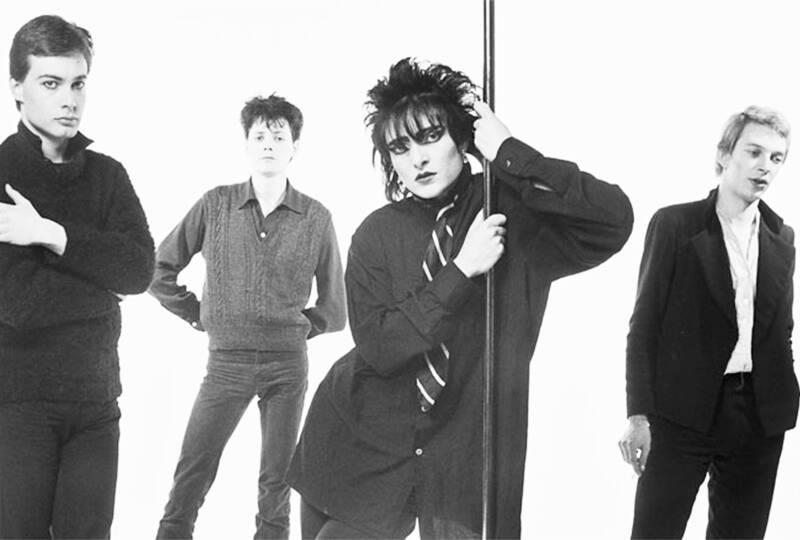 Siouxsie and the Bansees se inspirou na sonoridade e estética gótica. Foto: Reprodução