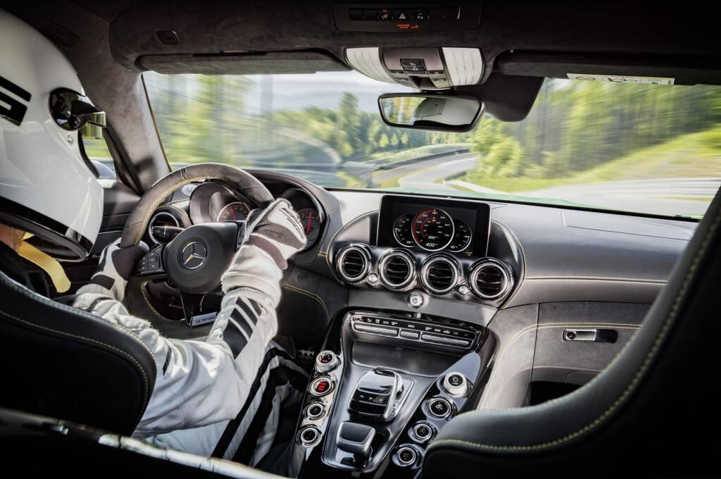 Mercedes-Benz AMG GT R. Foto: Divulgação