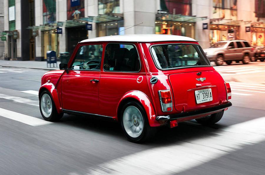 Mini Cooper clássico. Foto: Divulgação