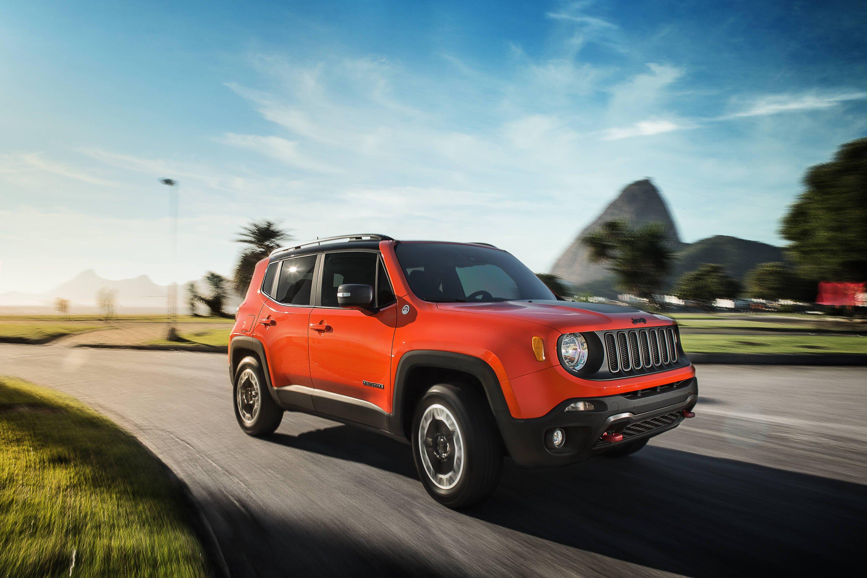 Jeep Renegade Trailhawk. Foto: Jeep Renegade Trailhawk