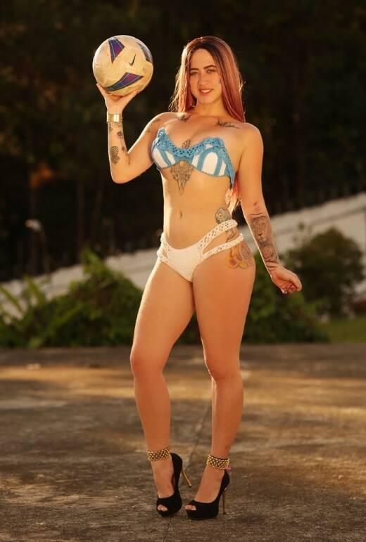 Candidata Miss Bumbum Brasil 2018. Foto: Divulgação