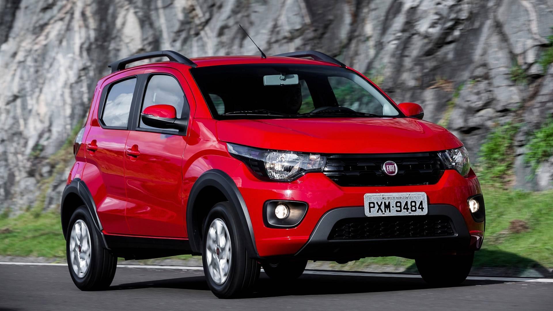 Fiat Mobi Way Extreme. Foto: Divulgação
