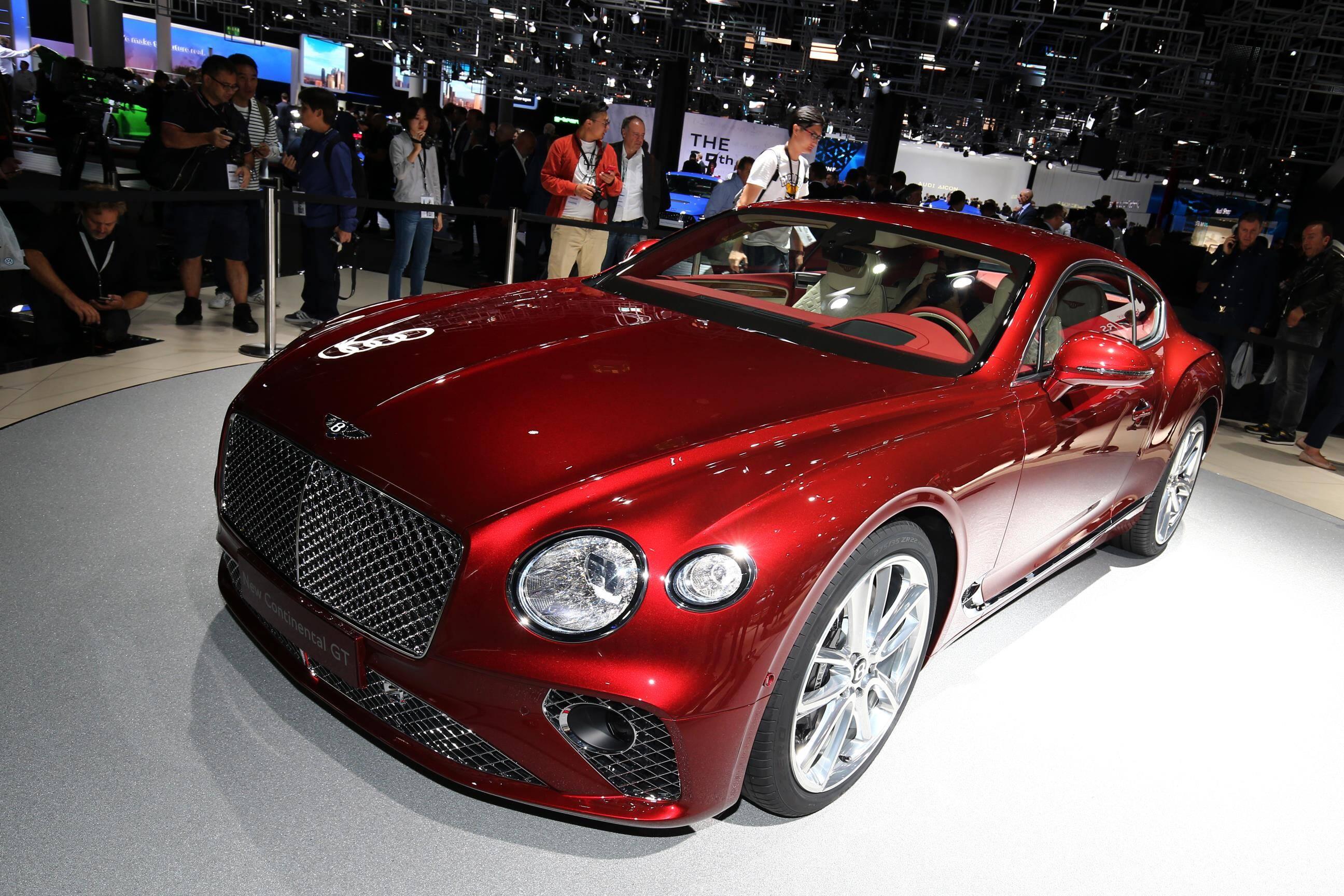 Bentley Continental GT. Foto: Newspress