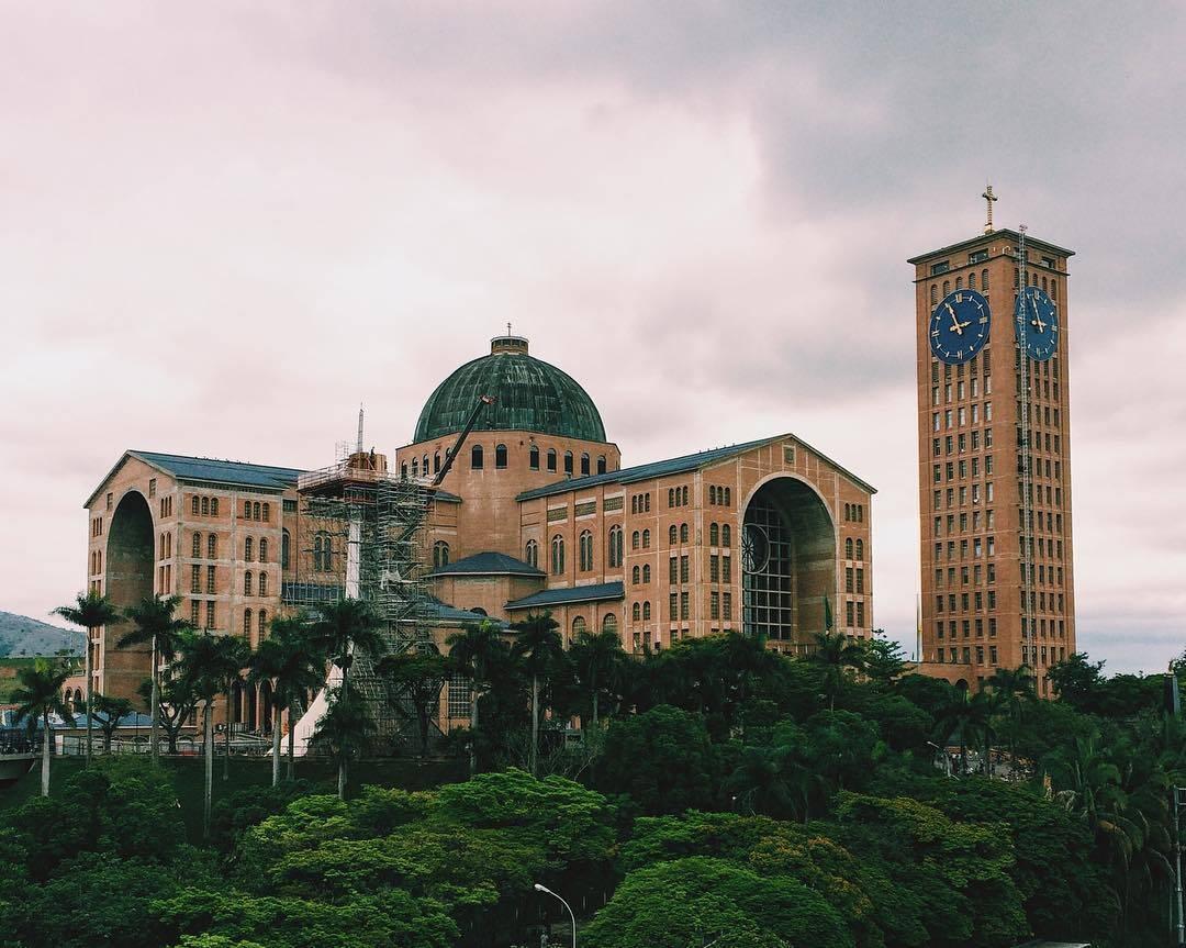 Basílica da Nossa Senhora da Aparecida. Foto:  paulistanalondoner