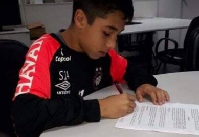 Gedson Santos, o Gedinho, estava há apenas uma semana no Flamengo. Foto: Divulgação