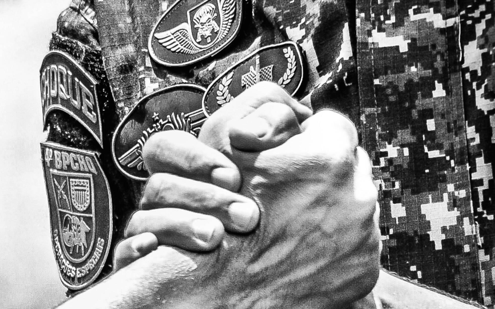 Camaradagem, confiança e cumplicidade são valores compartilhados por todos Operadores do COE. Foto: Major PM Luis Augusto Pacheco Ambar
