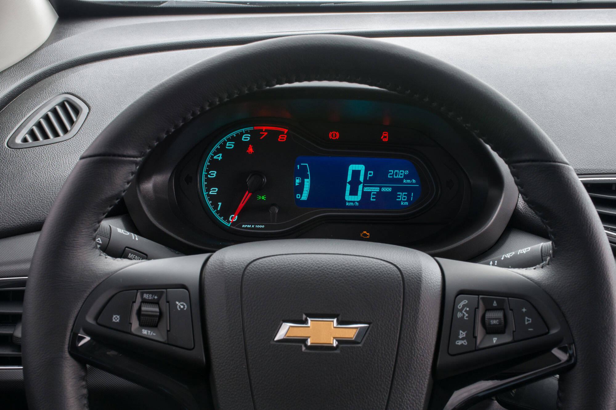 Chevrolet Onix 2017. Foto: Divulgação/General Motors
