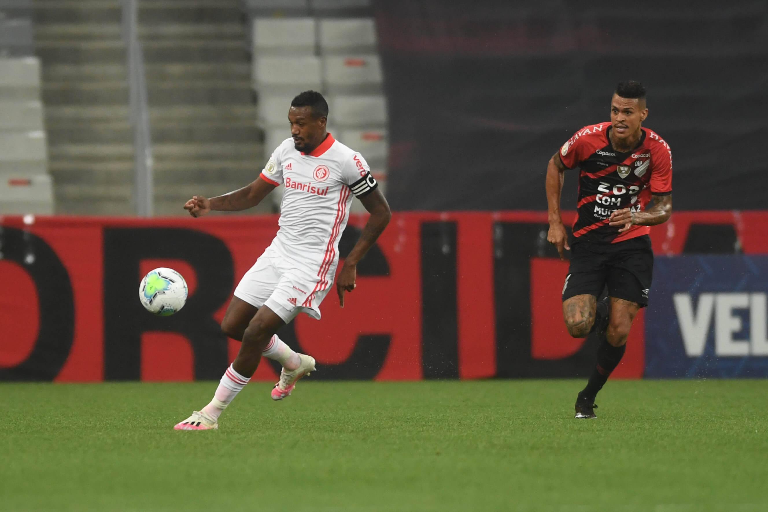 Athletico-PR x Inter. Foto: Reprodução / Twitter Inter