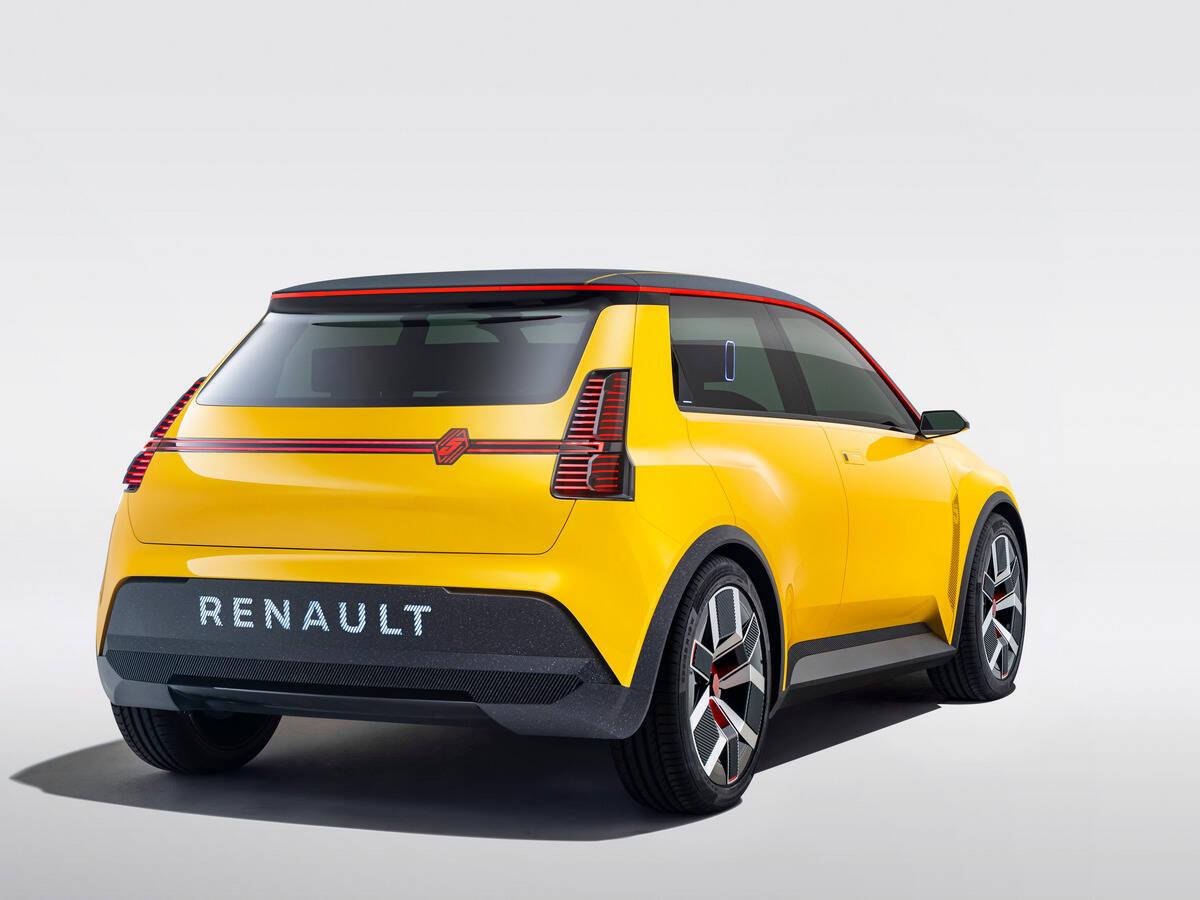 Renault 5 Prototype. Foto: Divulgação