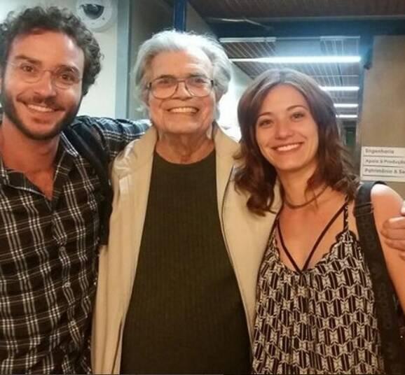 João Campos está feliz por atuar ao lado de nomes como Tarcísio Meira. Foto: Reprodução/Instagram