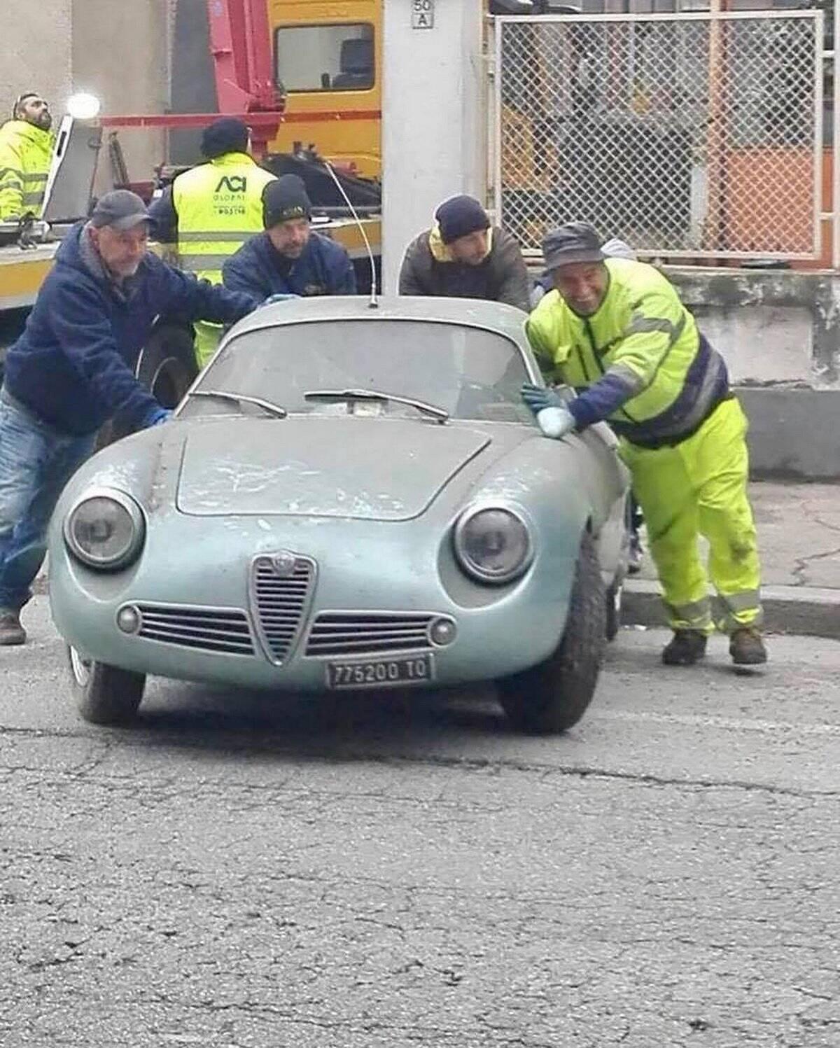 Alfa Romeo Giulietta SZ. Foto: Divulgação