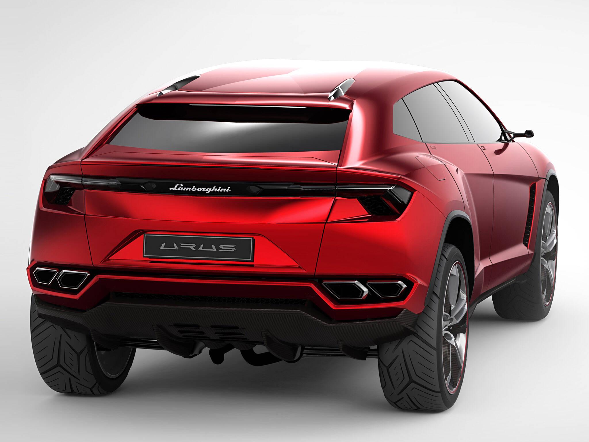 Lamborghini Urus. Foto: Divulgação/Lamborghini