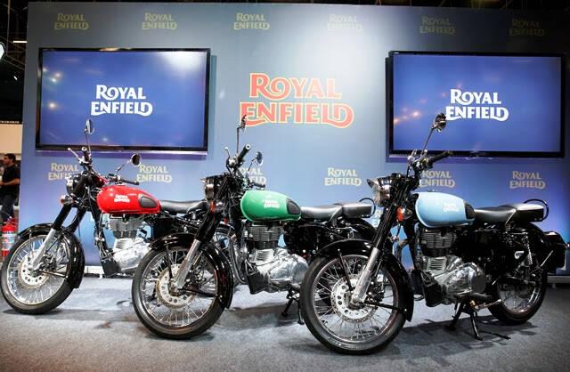 Royal Enfield: a marca faz a sua estreia no Salão Duas Rodas e promete sucesso. Foto: Divulgação