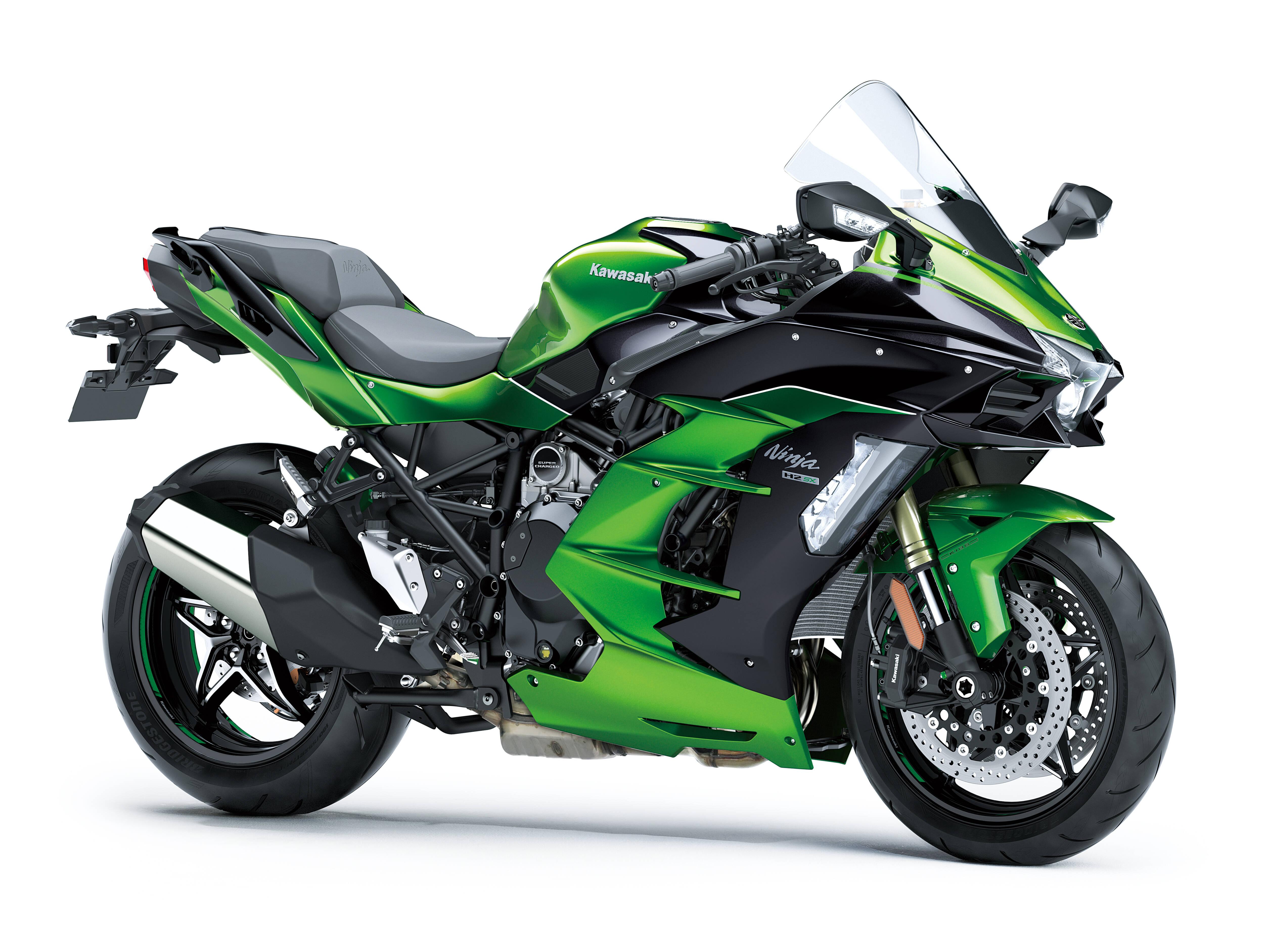 Kawasaki Ninja H2 SX SE. Foto: Divulgação