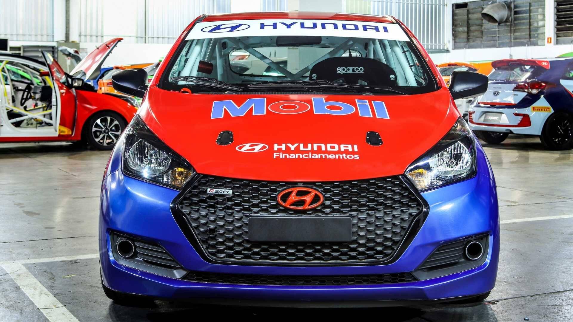 Copa Hyundai HB20. Foto: Divulgação
