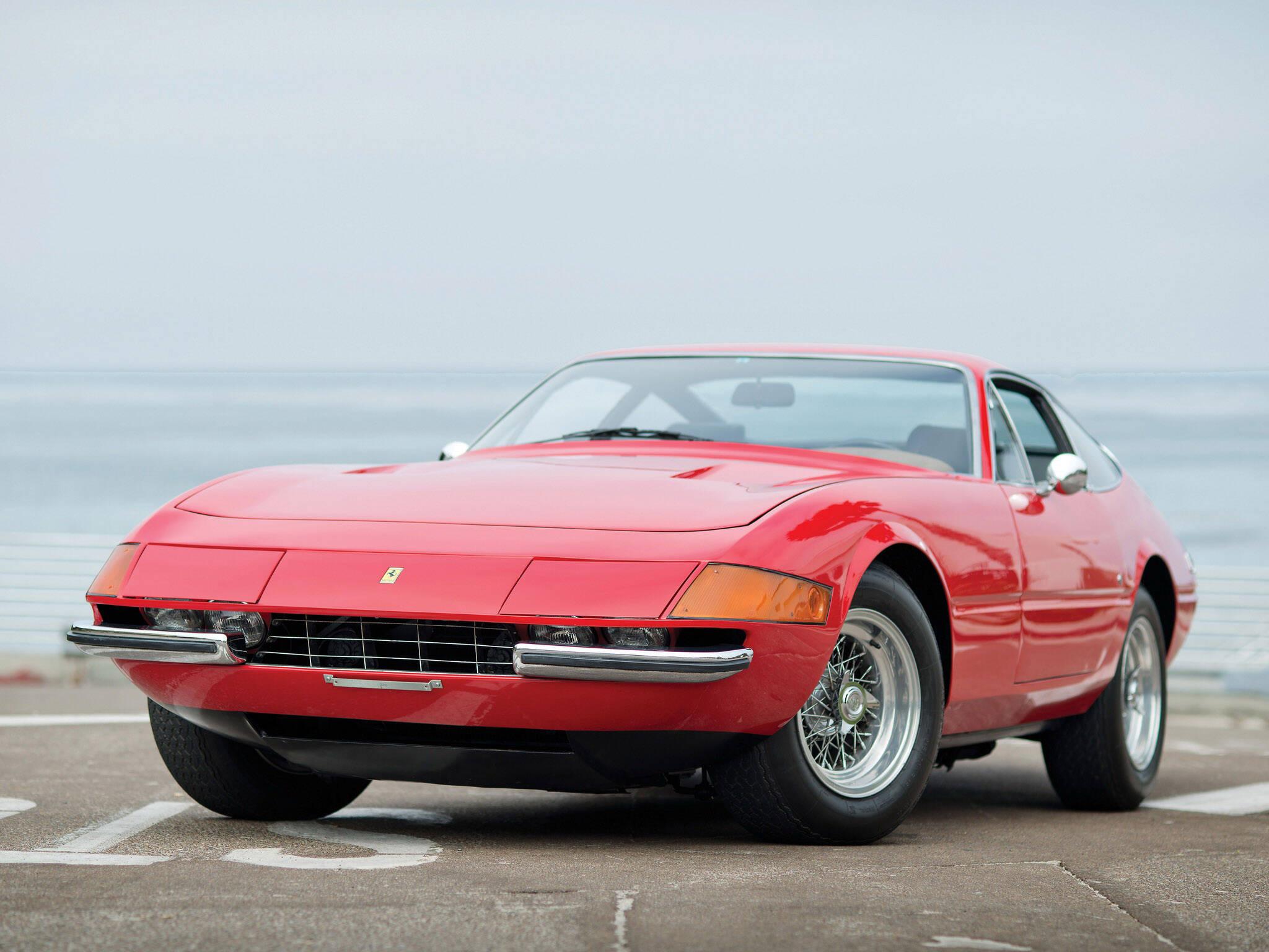 "Ferrari 365 GTB/4 ""Daytona"". Foto: Divulgação"