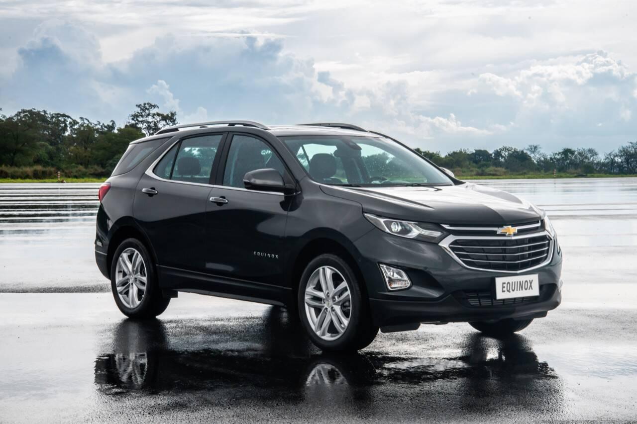 Chevrolet Equinox 2020. Foto: Divulgação
