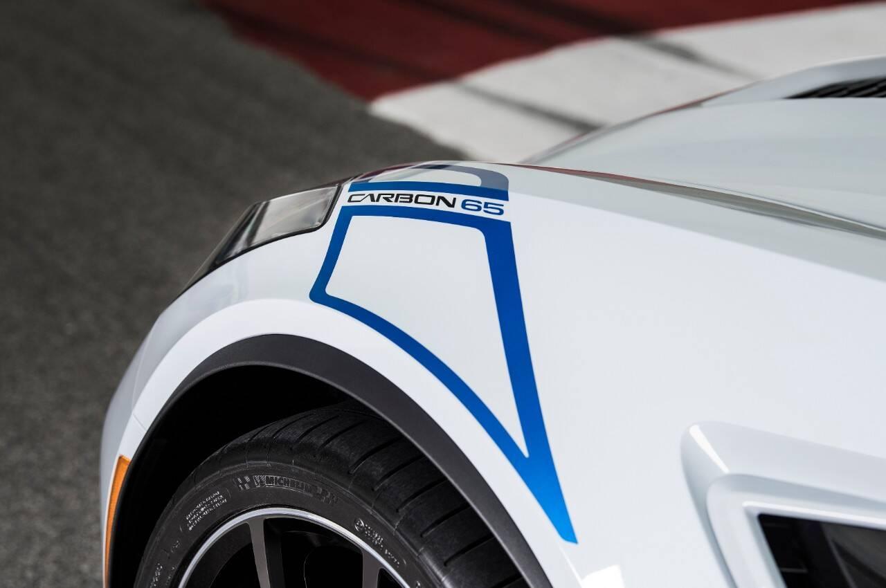 Chevrolet Corvette 65 Carbon. Foto: Divulgação