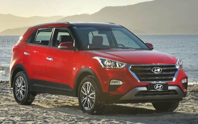 Hyundai Creta, SUV de entrada, 8,9% de desvalorização depois de um ano . Foto: Divulgação