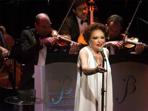 Maior nome do palco brasileiro,Bibi Ferreira é reverenciada nos Estados Unidos Font. Foto: Divulgação
