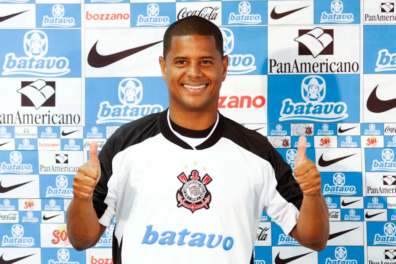 Marcelinho Carioca - revelado pelo Flamengo em 1990. Foto: Getty Images
