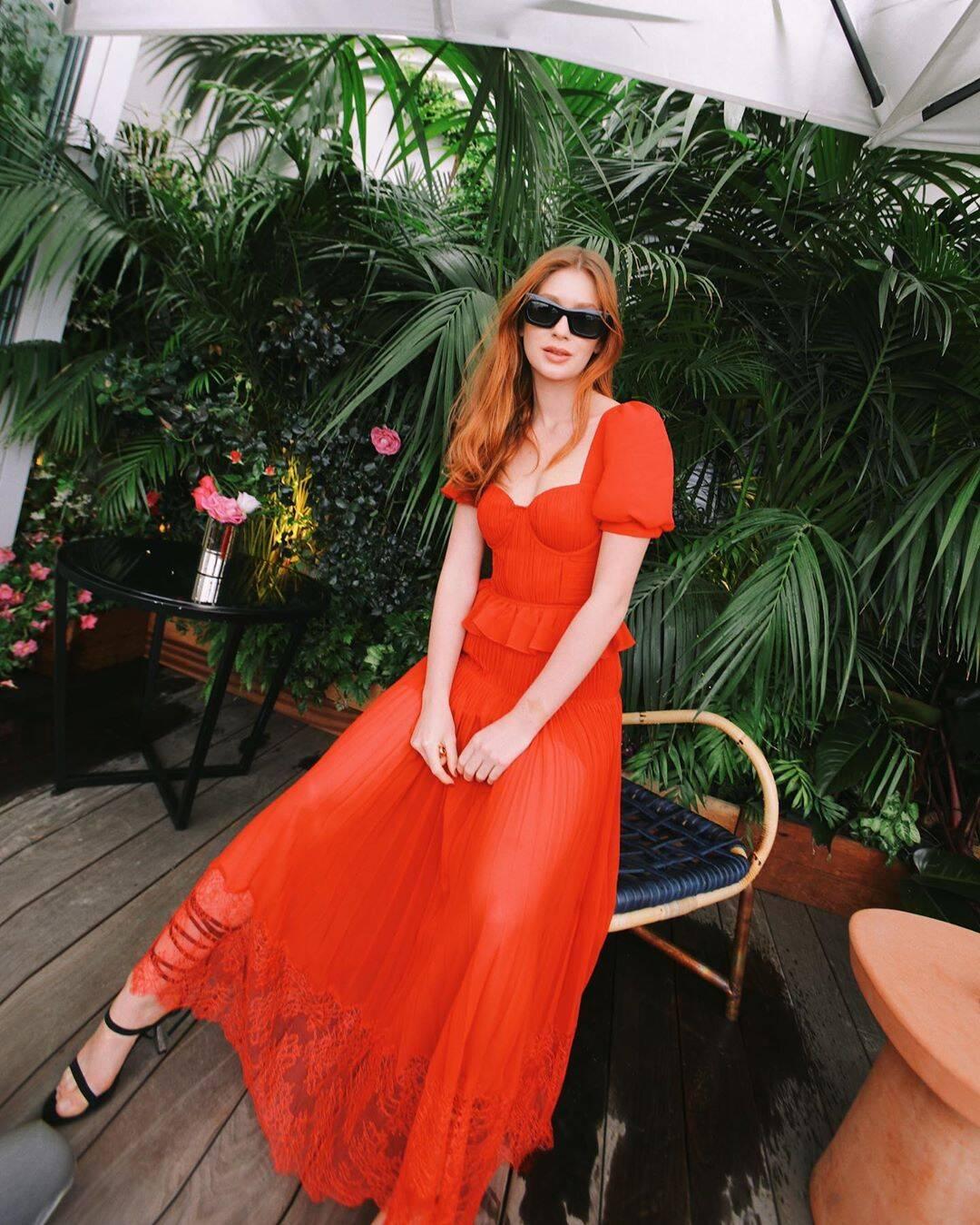 Marina Ruy Barbosa em Cannes. Foto: Reprodução/ Instagram