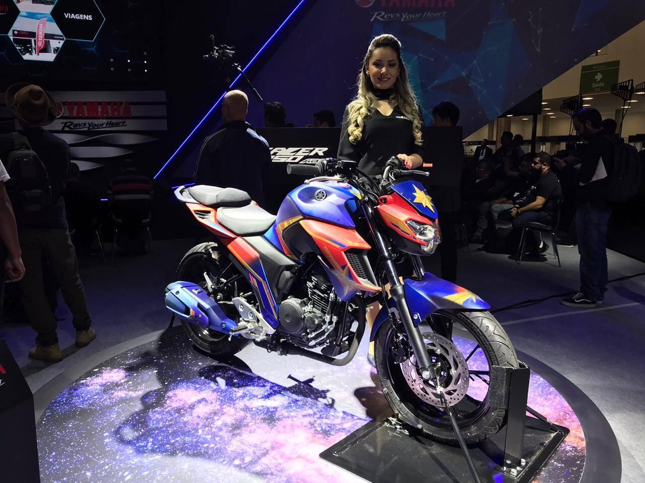 Yamaha fazer 150 UBS série limitada. Foto: Guilherme Menezes/iG