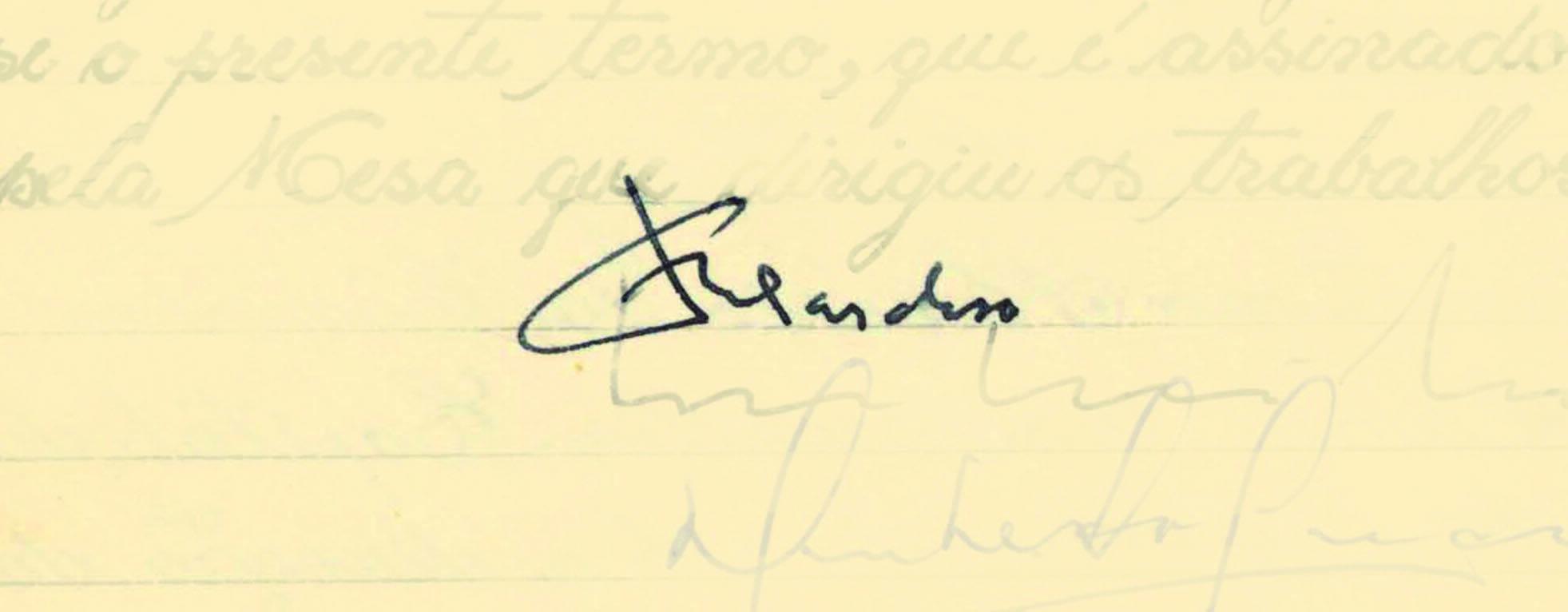 Fernando Henrique Cardoso sucedeu Itamar Franco em 1995 e foi o primeiro a ser reeleito, em 1998. Foto: Reprodução / Senado Federal