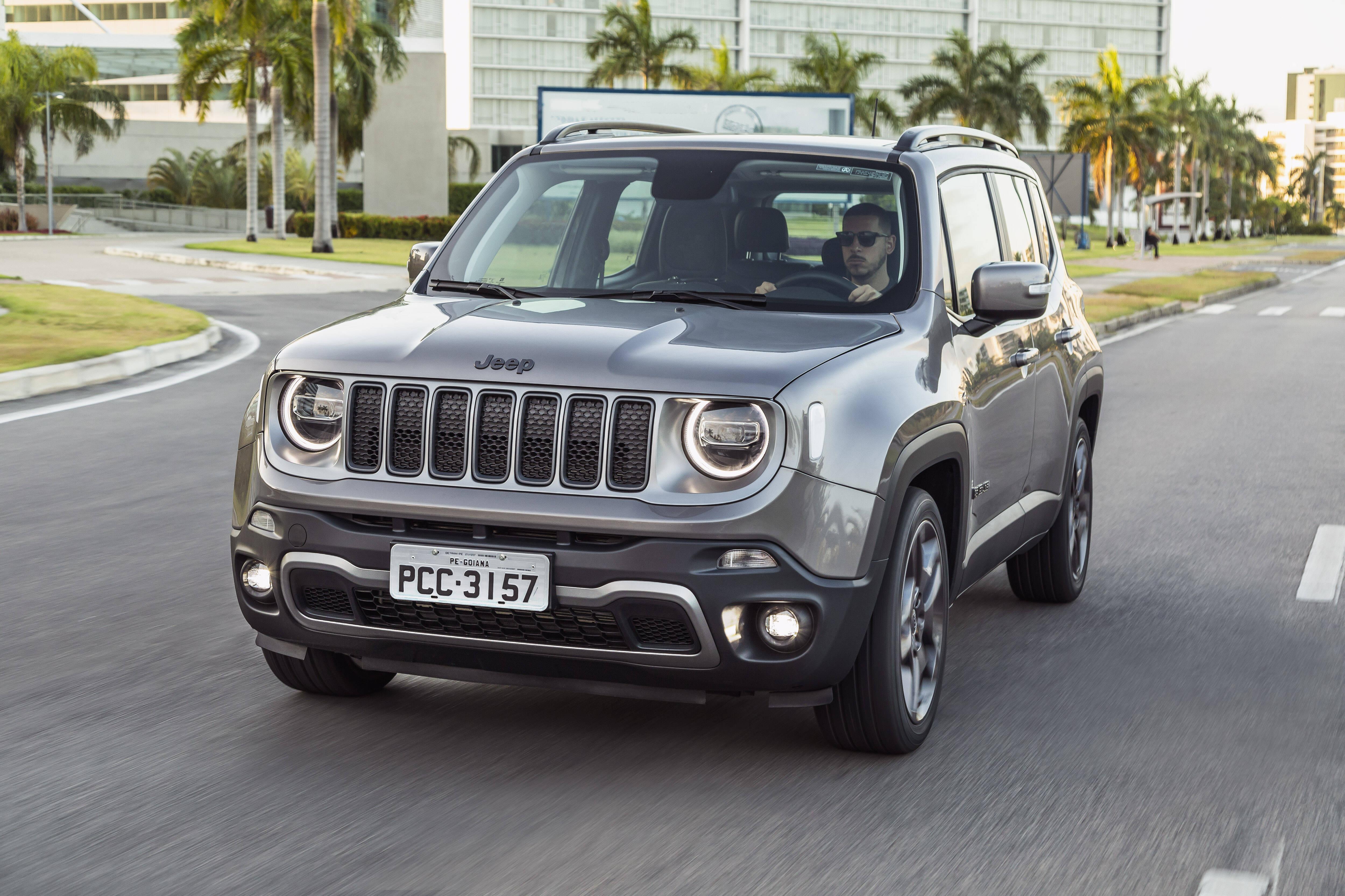 Jeep Renegade 2019. Foto: Divulgação