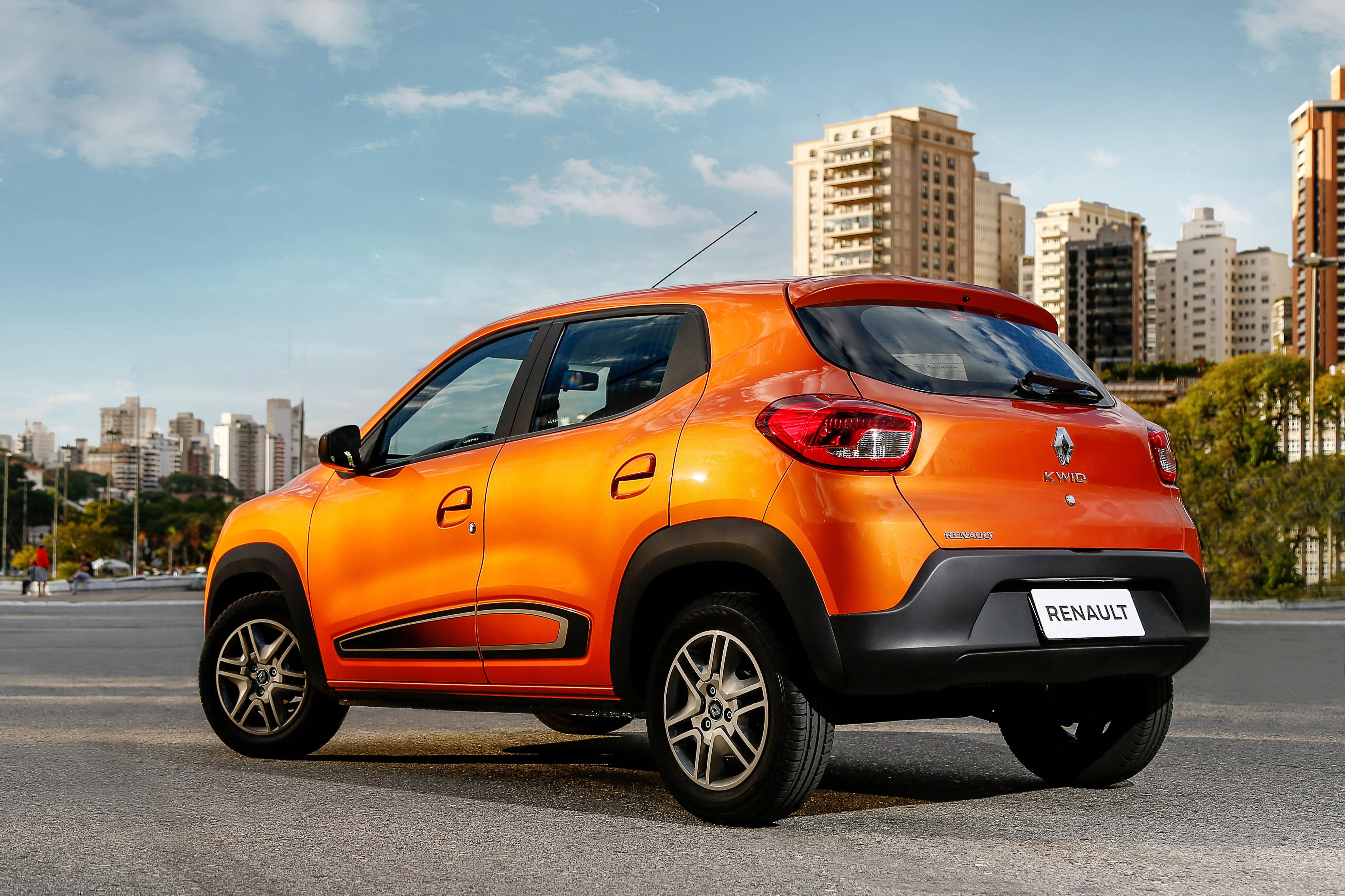 Renault Kwid. Foto: Divulgação
