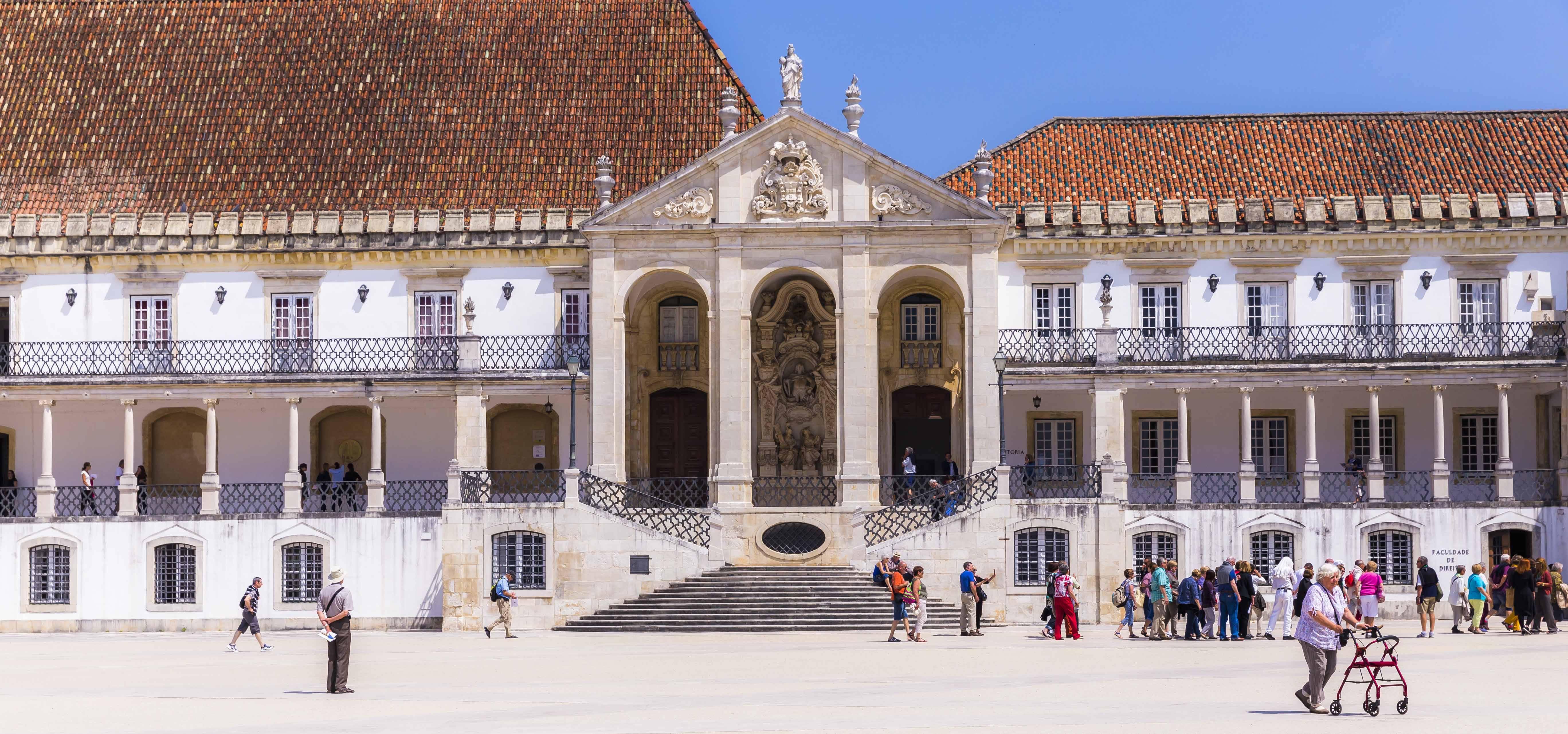 A cidade de Coimbra abriga a Universidade de Coimbra, uma das mais antigas do mundo, com 729 anos. Foto: Victor Carvalho/Turismo de Portugal