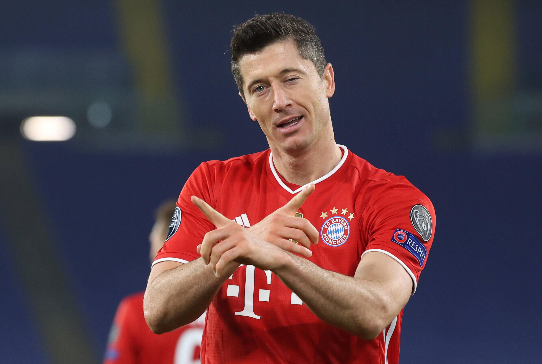 Lazio x Bayern. Foto: reprodução / Twitter