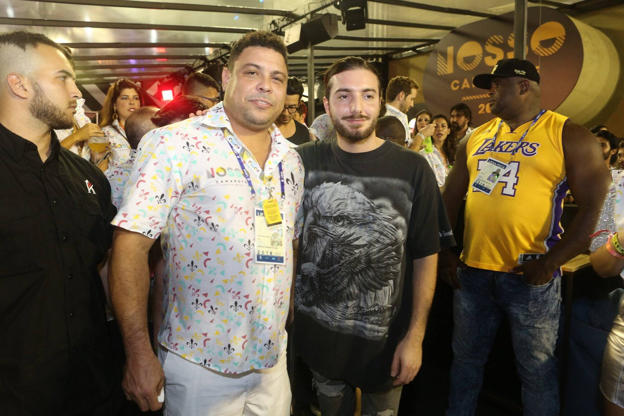 Ronaldo e DJ Alesso na última sexta (09). Foto: RT Fotografia/ Brazil News/ CS Eventos Divulgacao