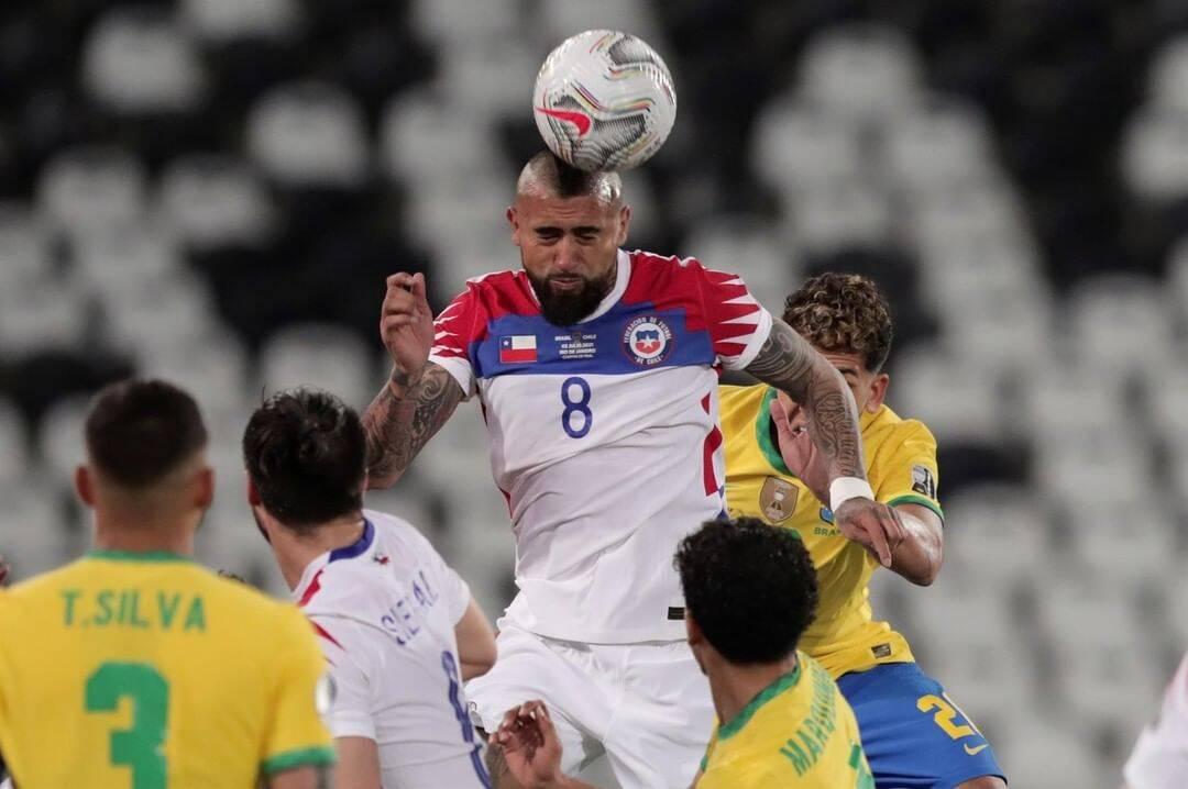 Brasil x Chile. Foto: Reprodução / Instagram Copa América