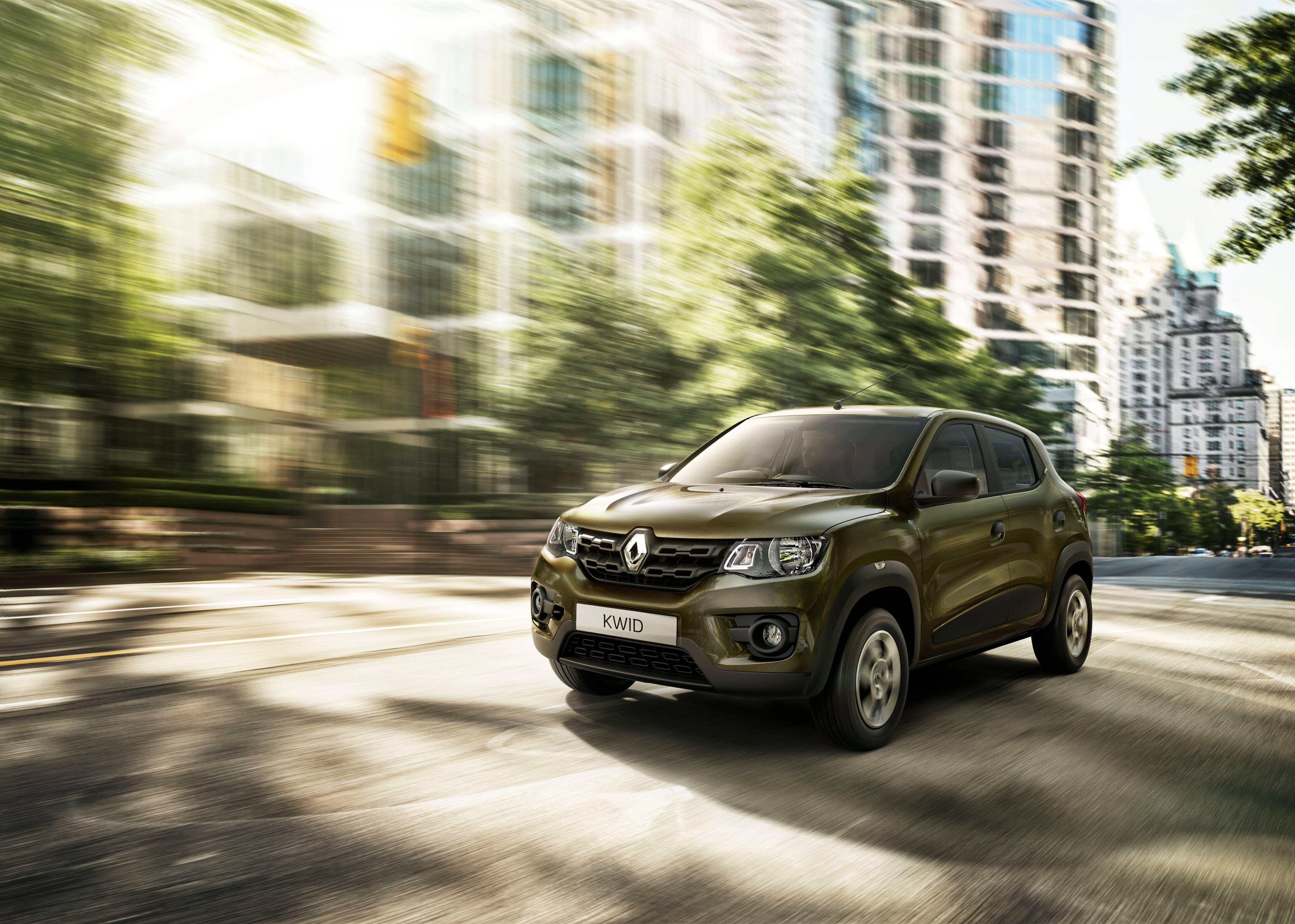 Renault Kwid. Foto: divulgação/Renault