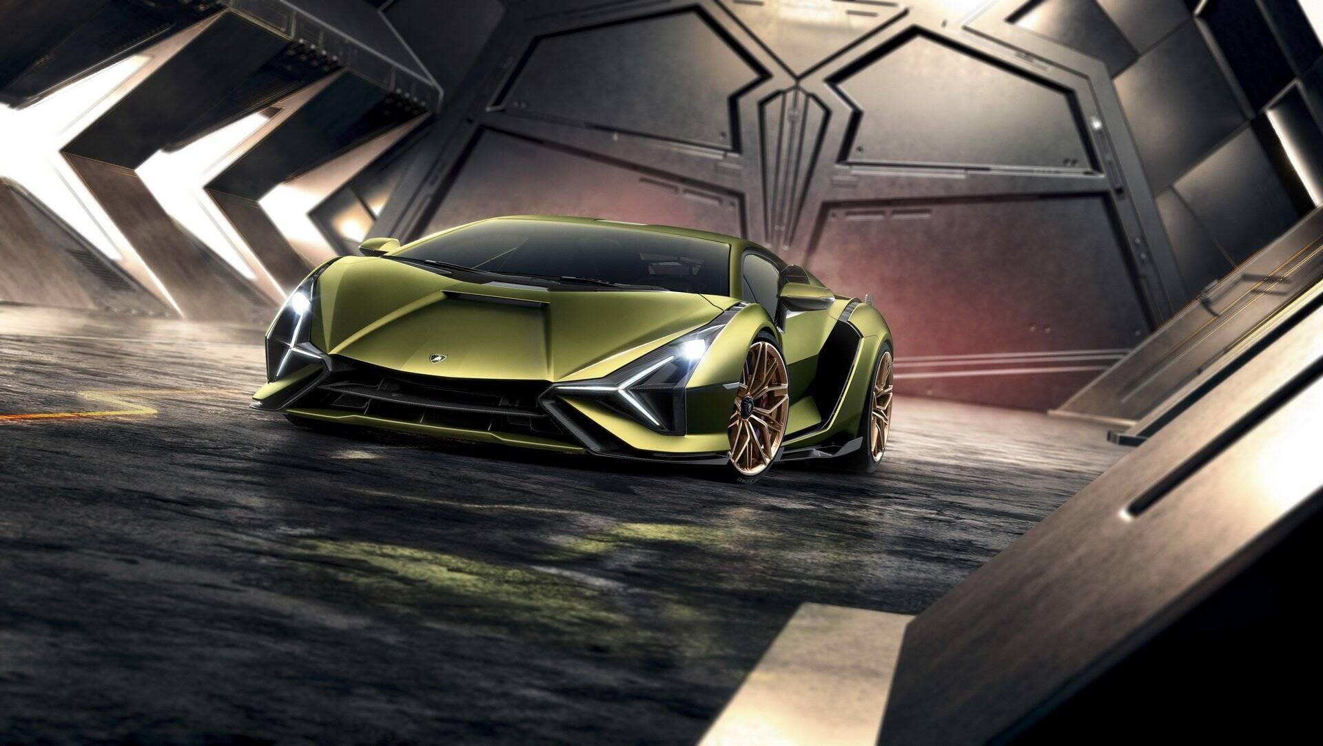 Lamborghini Sián. Foto: Divulgação