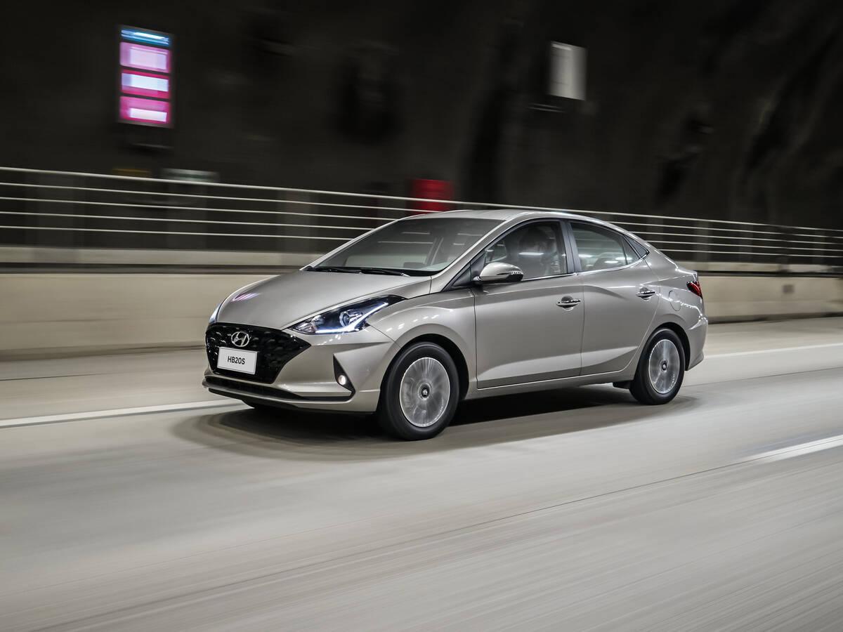 Hyundai HB20S 1.0 turbo. Foto: Divulgação