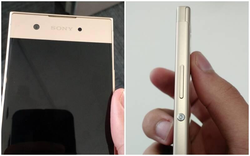 Câmera de selfie do Xperia XA1 tem 8 MP; botões do smartphone ficam na direita. Foto: Victor Hugo Silva/Brasil Econômico