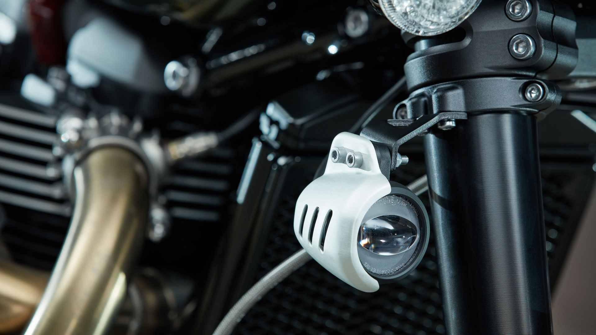 Triumph Scrambler. Foto: Divulgação