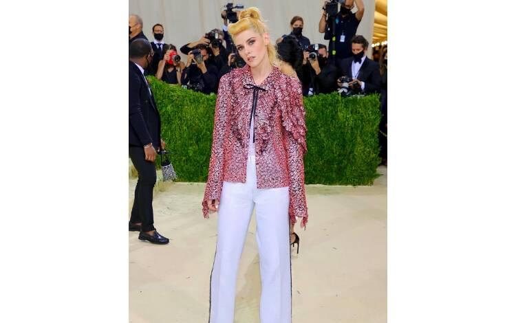 Kristen Stewart de Chanel. Foto: Reprodução/Instagram