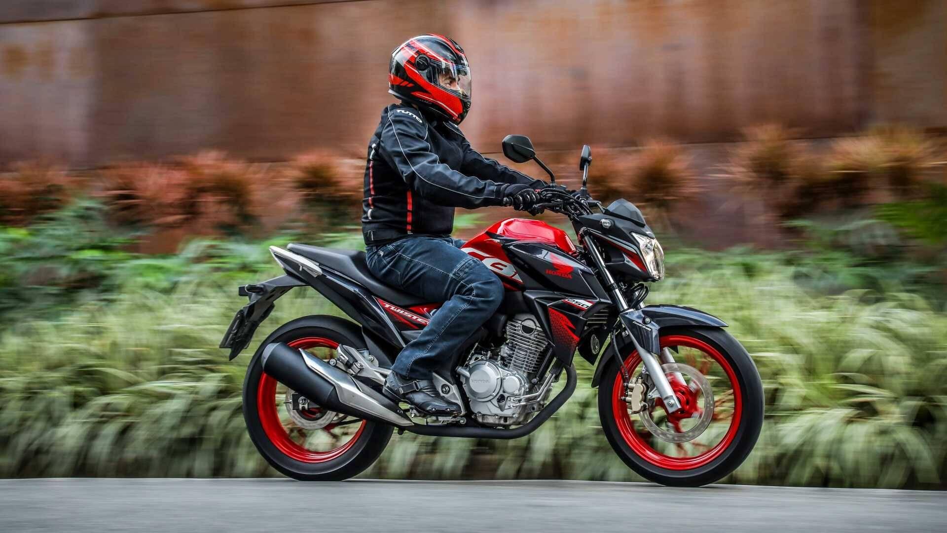 Honda CB 250F Twister. Foto: Divulgação