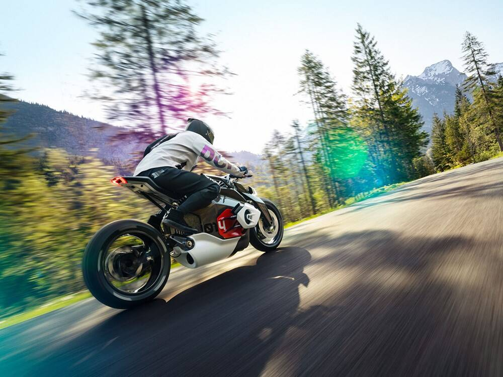 BMW Motorrad Vision. Foto: Divulgação